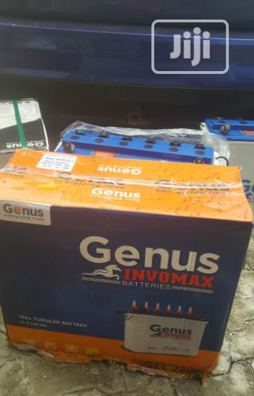 Original Genus 220AH Inverter Batteries For Sale