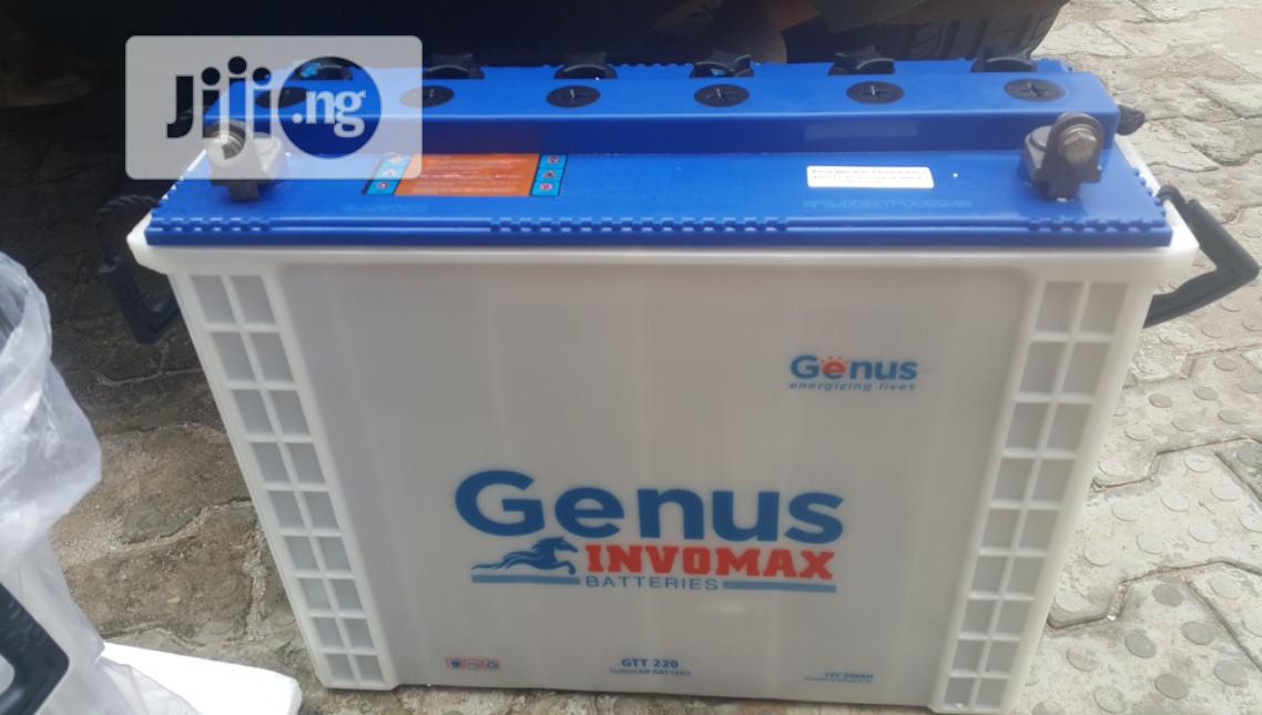 Original Genus 220AH Inverter Batteries For Sale | Electrical Equipment for sale in Egor, Edo State, Nigeria