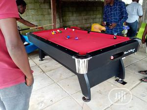 8ft by 4 Foreign Snooker Board With Complete Accessories | Sports Equipment for sale in Lagos State, Ikeja