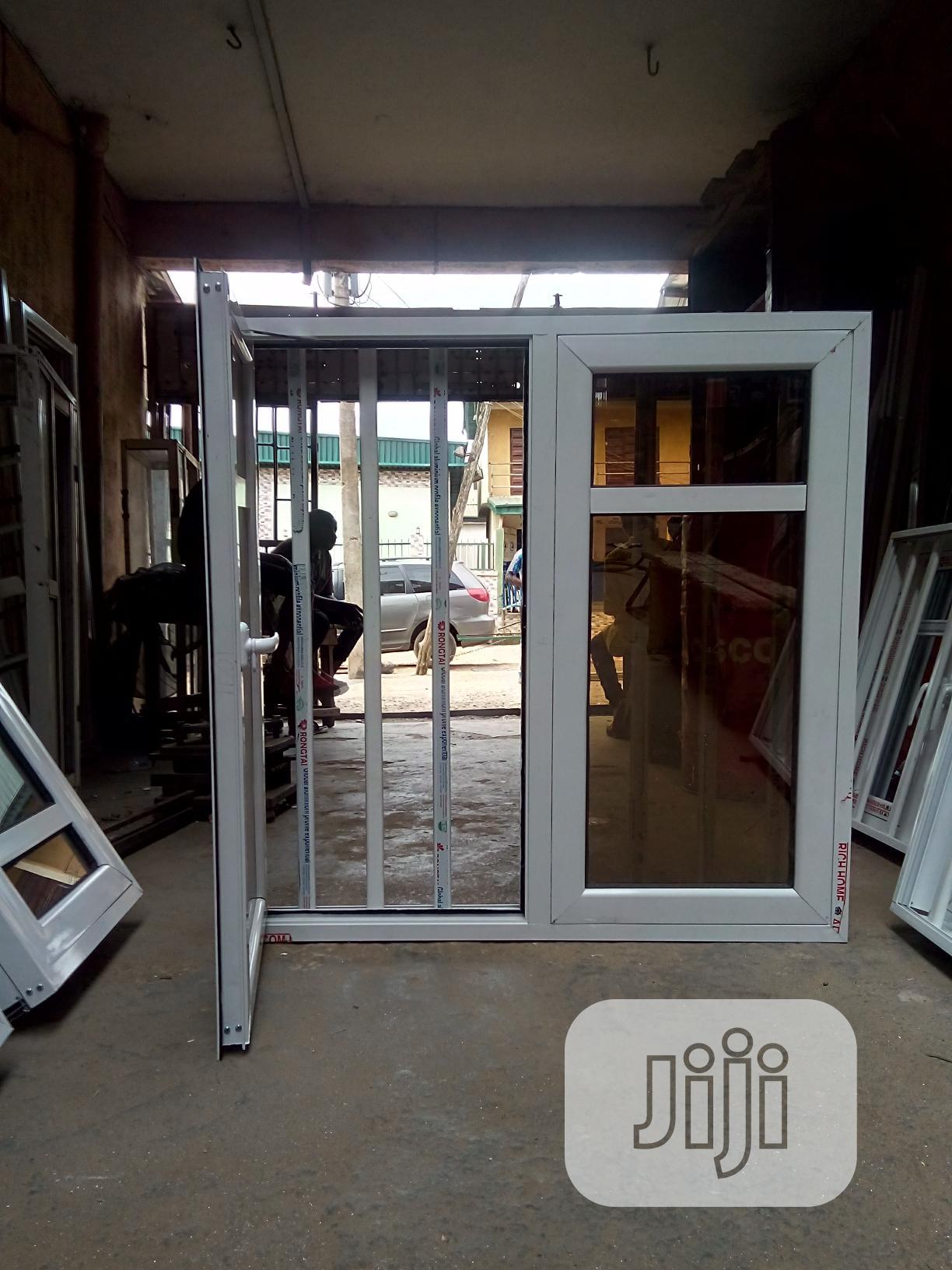 3-in-1 Aluminium WINDOW + NET + Iron-rod BURGLARY Proof