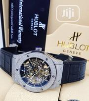 Hublot Geneve Black and Brown Leather Wristwatch | Watches for sale in Lagos State, Lagos Island