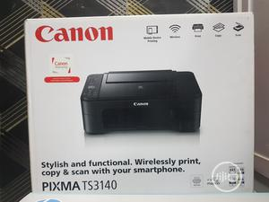 Canon Pixma TS3140 3-In-1 Multi-Function Wireless Inkjet Printer | Printers & Scanners for sale in Lagos State, Ikeja