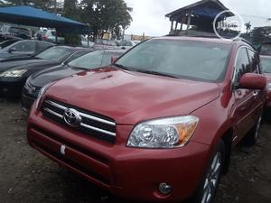 Toyota RAV4 2008 Limited V6 Red | Cars for sale in Lagos State, Apapa