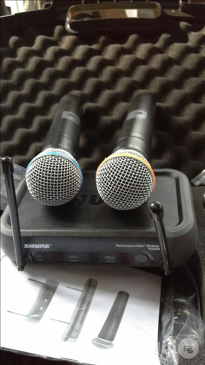 Shure PGX242 Professional Wireless Microphone | Audio & Music Equipment for sale in Mushin, Lagos State, Nigeria