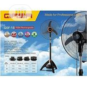 """Optional 18"""" QASA Fan Ac/Dc Or Rechargeable Fan 
