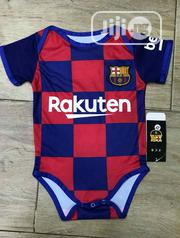 Barcelona FC Babies Pindown Jersey | Children's Clothing for sale in Lagos State, Ajah
