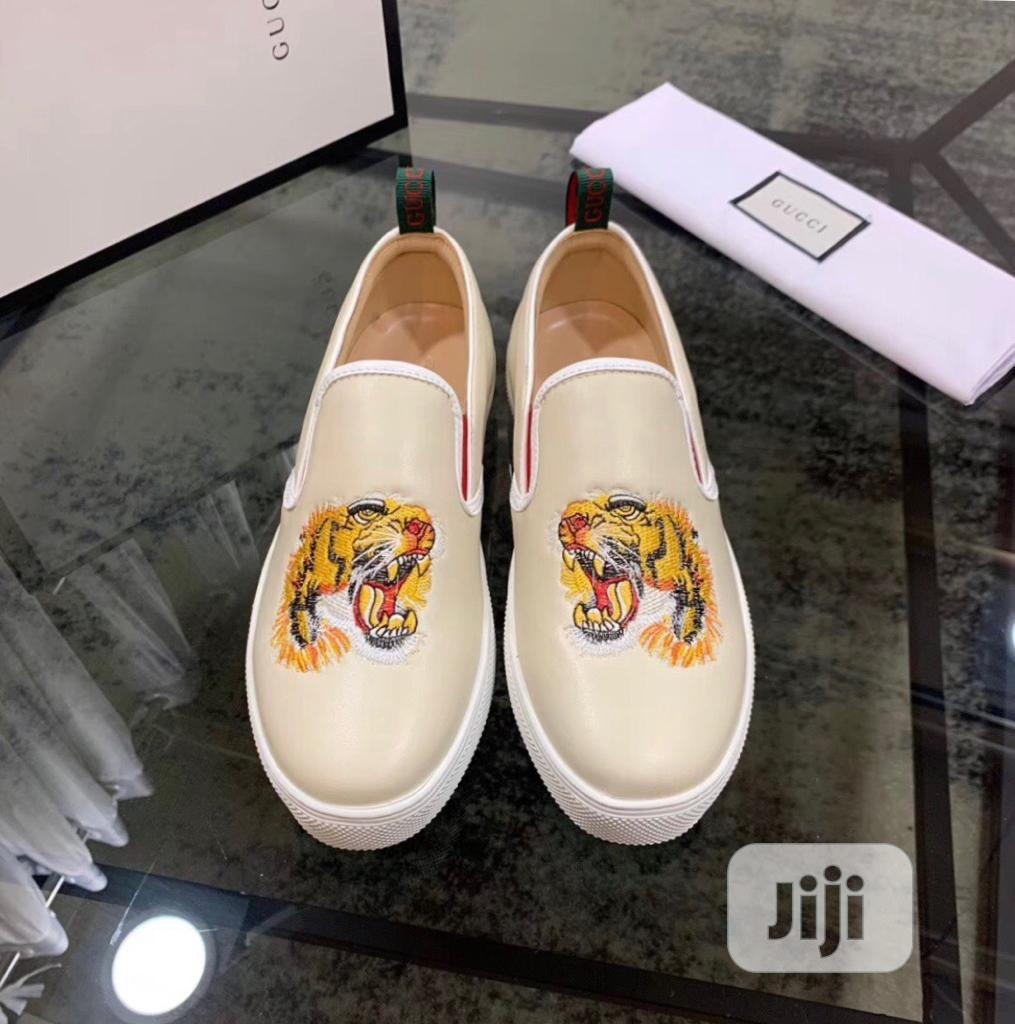 Gucci Canvas Available as Seen Order Yours Now | Shoes for sale in Lagos Island (Eko), Lagos State, Nigeria