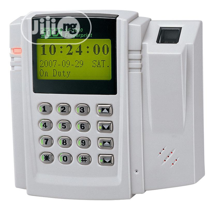Access Control System- Soca Sf-1000t Fingerprint Time & Attendance