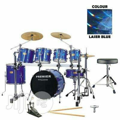 Professional 7 Set Premier Drum Set | Musical Instruments & Gear for sale in Mushin, Lagos State, Nigeria