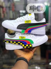 Quality Puma Unisex Leather Sneakers | Shoes for sale in Lagos State, Lagos Island