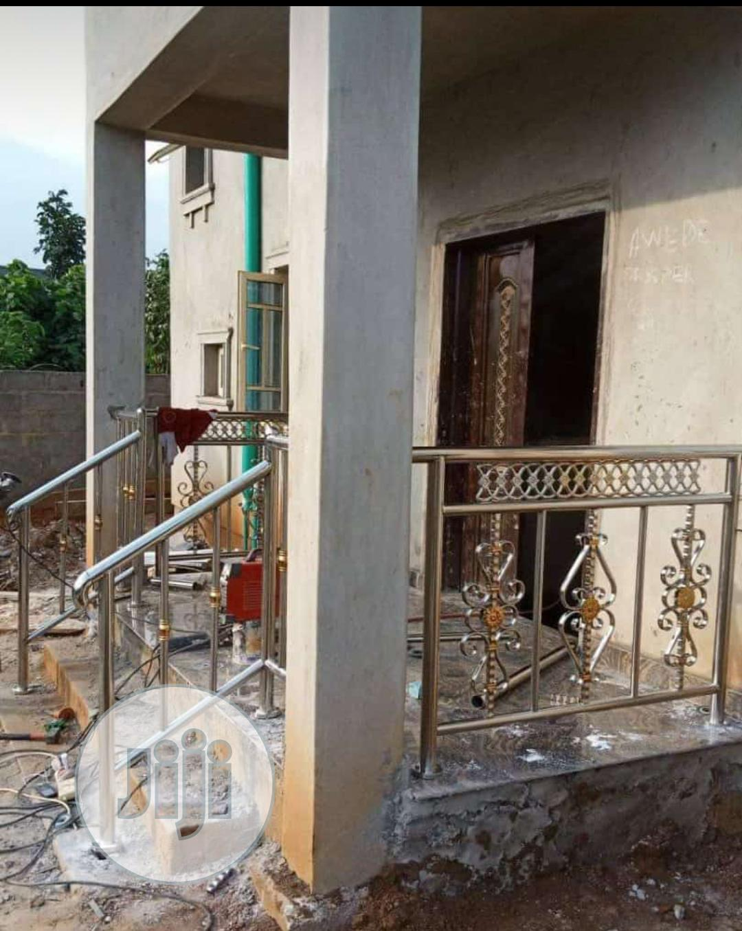 Archive: Stainless Stairs And Balcony