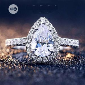 Oval Shape 925 Sterling Silver Engagement Proposal Ring | Wedding Wear & Accessories for sale in Lagos State, Ajah