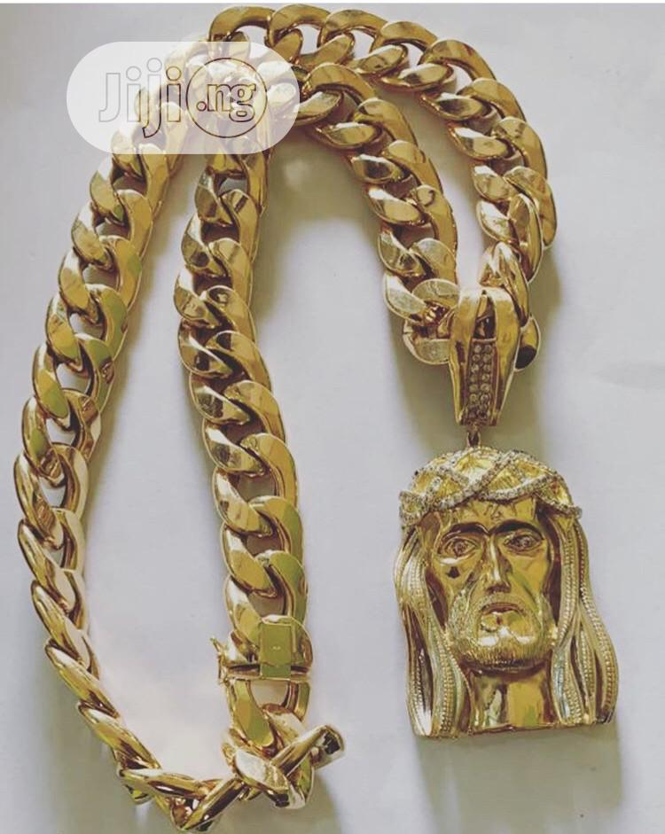 208.6 Gram Gold Corban Chain Available As Seen Order Yours | Jewelry for sale in Lagos Island (Eko), Lagos State, Nigeria