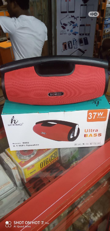SOMHO S602 Bluetooth Speaker   Audio & Music Equipment for sale in Ikeja, Lagos State, Nigeria