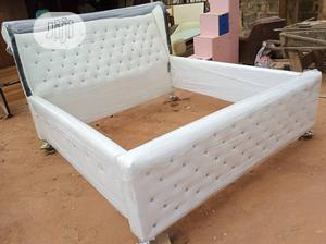 """""""6×6 Exotics Bed Frame With 2 Bed Side   Furniture for sale in Lagos State, Magodo"""