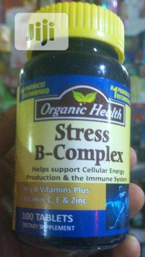 Stress B Complex Daily Essential Multivitamin | Vitamins & Supplements for sale in Lagos State, Yaba