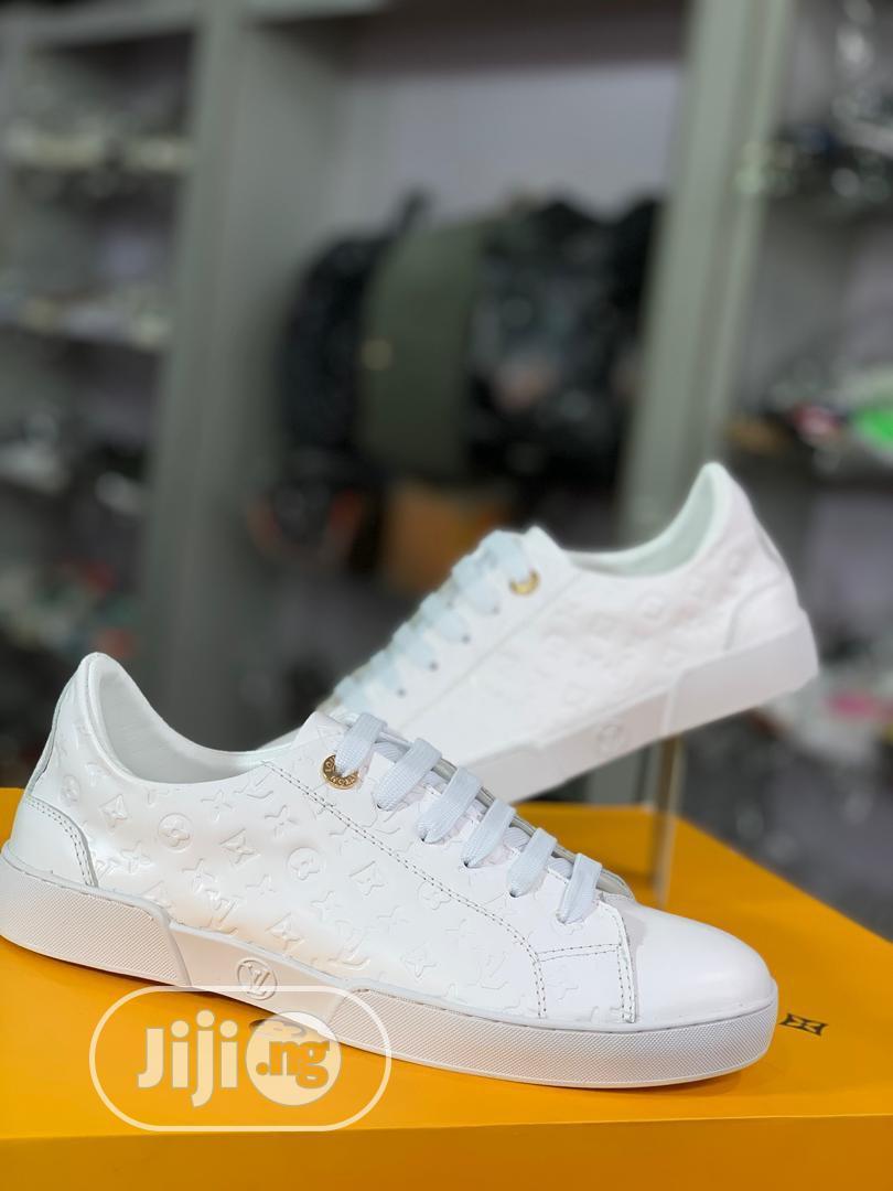Louis Vuitton Canvas Shoe Available as