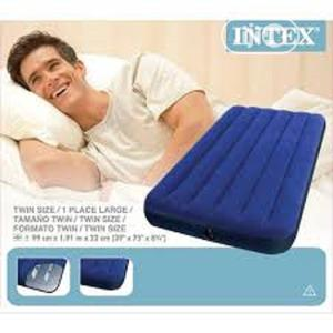 Twin Airbed Intex With Pump | Furniture for sale in Lagos State, Ikeja