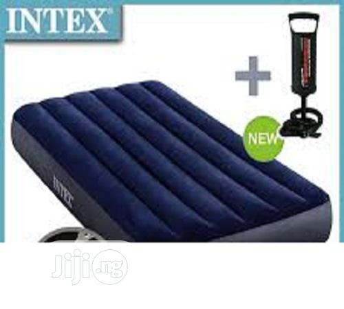 Twin Airbed Intex With Pump | Furniture for sale in Ikeja, Lagos State, Nigeria