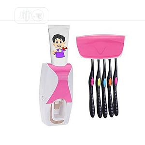 Toothpaste Dispenser With Toothbrush Holder | Home Accessories for sale in Lagos State, Lagos Island (Eko)
