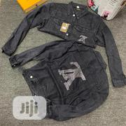 Louis Vuitton Quality Unisex Jeans Jacket   Clothing for sale in Lagos State, Lagos Island