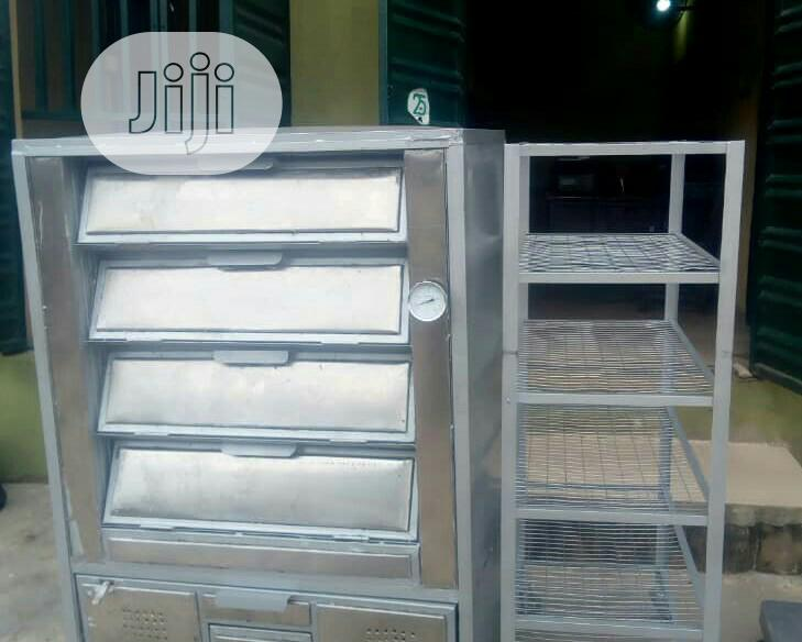 Half Bag Local Deck Gas Oven