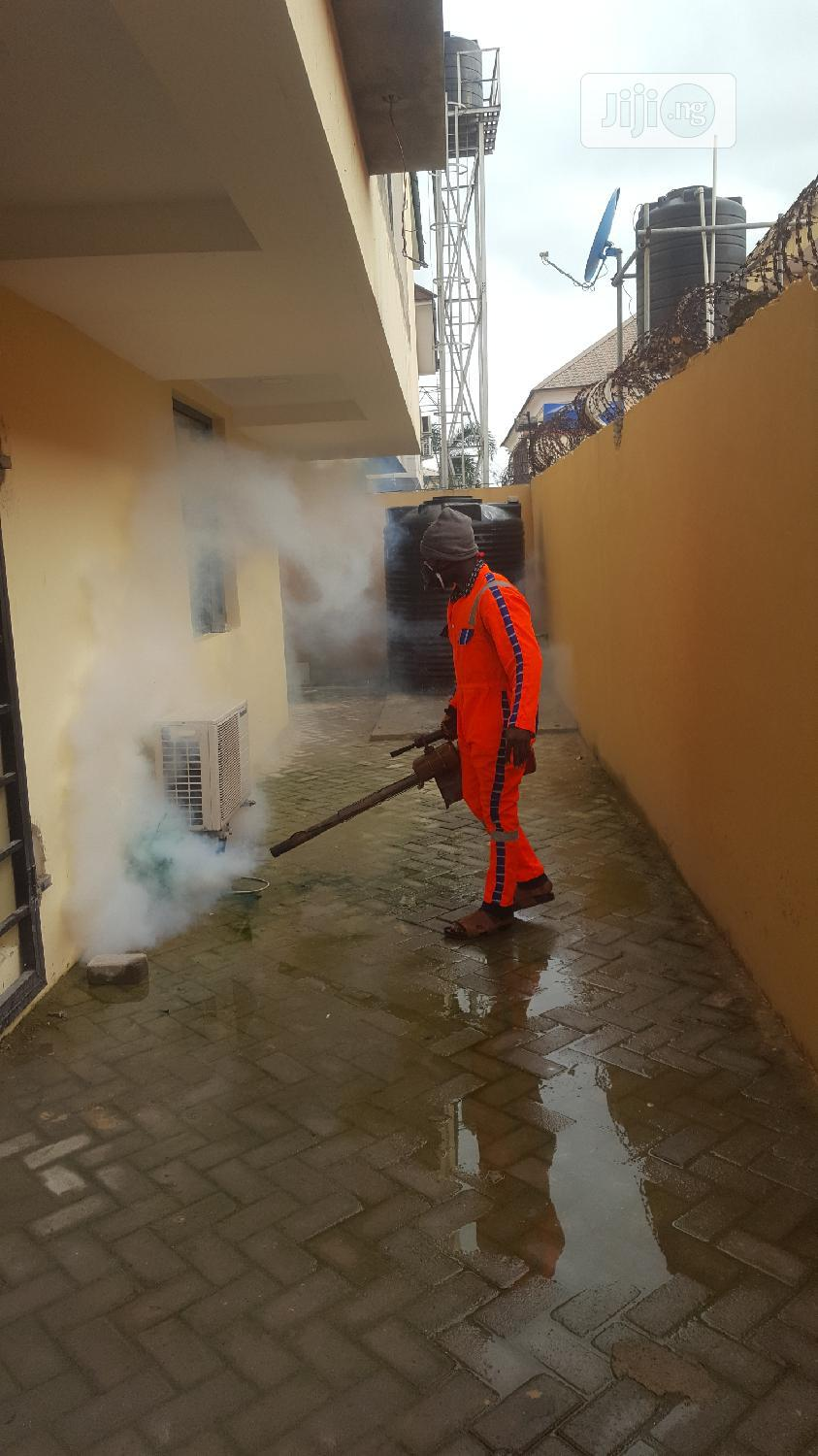 Cleaning Fumigation And Tiles Polishing