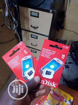 Original 16gb Sandisk Memory Card | Accessories for Mobile Phones & Tablets for sale in Abuja (FCT) State, Wuse 2