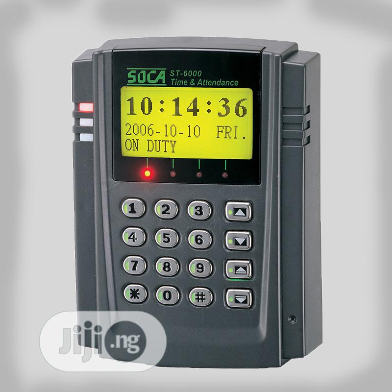 Access Control System- Soca St-6000 Professional Time And Attendance