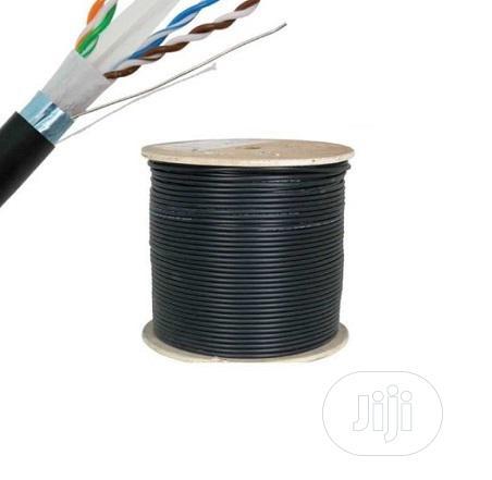 Cat6 Outdoor UTP Cable - 100% Copper