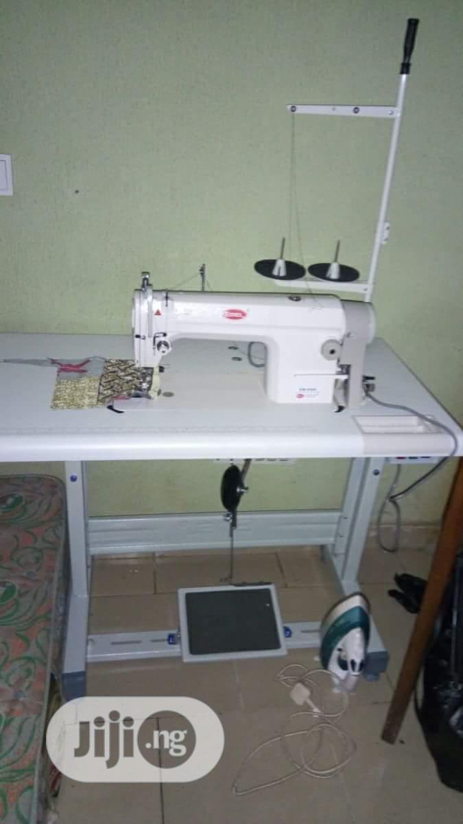 Emel Industrial Straight Sewing Machine Model 8500