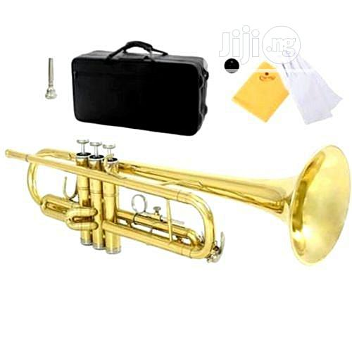 Professional Gold Trumpet