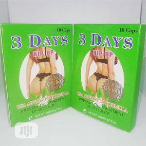 Original 3 Days Hip Up - Sexiest Bust, Hips Butt Enlargement Capsule   Sexual Wellness for sale in Abuja (FCT) State, Jabi
