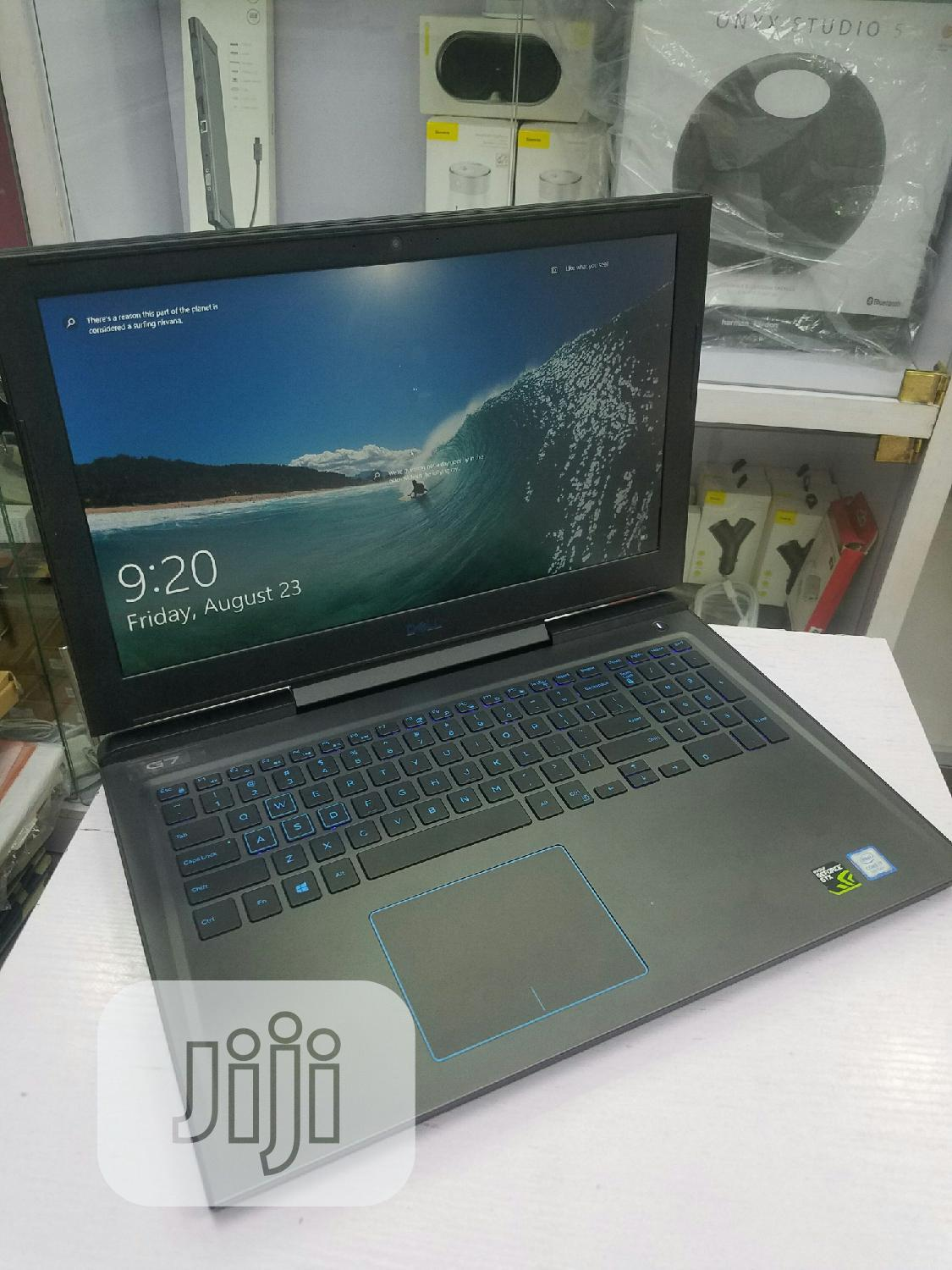 Dell G7 15inch Gaming 256GB Corei7 8GB Ram   Laptops & Computers for sale in Ikeja, Lagos State, Nigeria