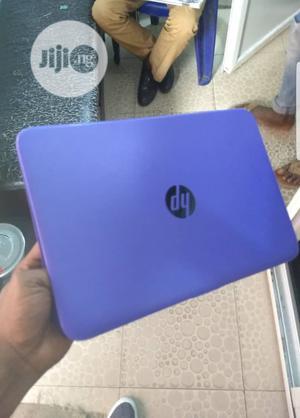 Laptop HP Stream 14 4GB Intel Celeron SSD 40GB | Laptops & Computers for sale in Lagos State, Ikorodu