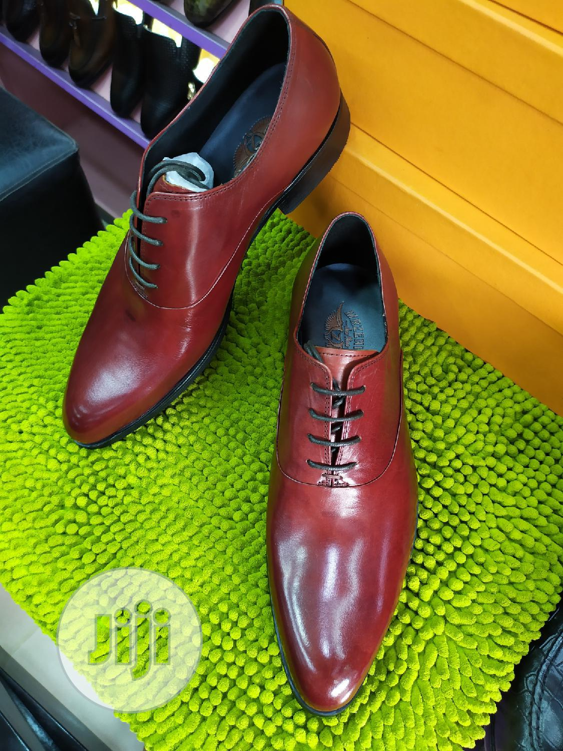 Toney Brown Leather Lace Shoes | Shoes for sale in Lagos Island (Eko), Lagos State, Nigeria