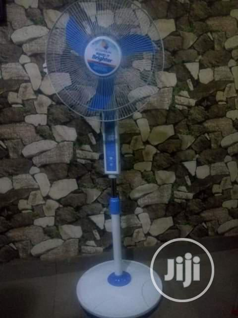 Archive: Rechargeable Solar Energy Standing Fan With Its Panel.