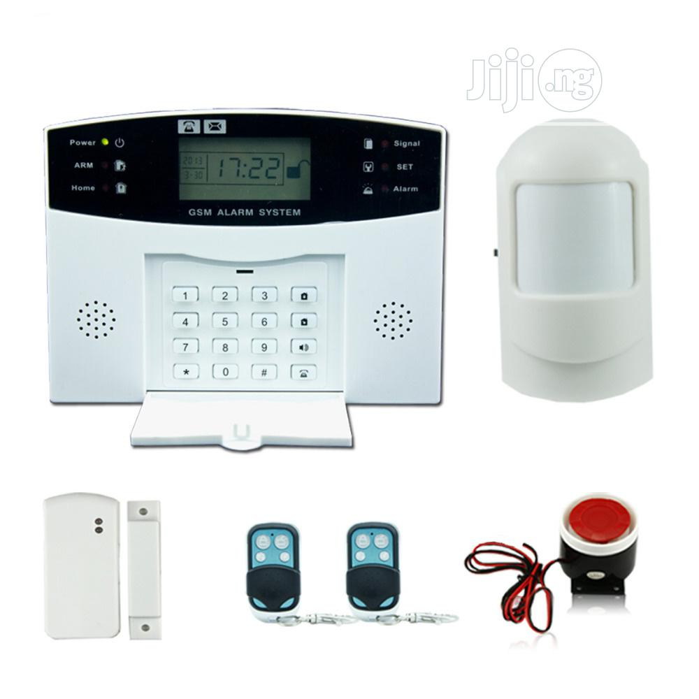 Archive: Fire And Burglary GSM Alarm System 100 +8zone