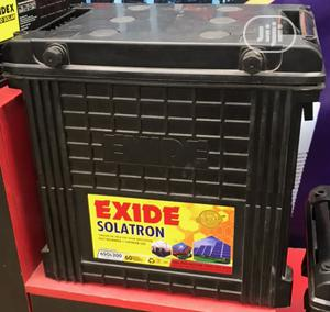 Exide Solatron 12V 200ah Deep Cycle Battery | Solar Energy for sale in Lagos State, Victoria Island