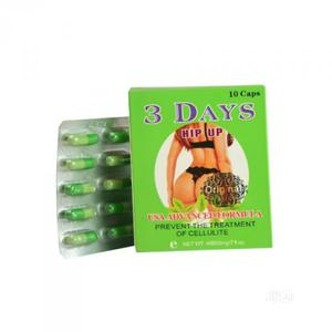 3 Days Hip Up - Beautiful Boobs, Hips Butt Enlargement Capsule   Sexual Wellness for sale in Abuja (FCT) State, Dutse-Alhaji