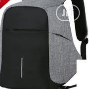 Generic Anti Theft Travel Laptop Bag With USB Charging Port - Black | Computer Accessories  for sale in Lagos State