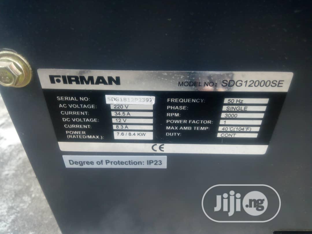 Archive: Original Firman 8.5 KVA Diesel Generator
