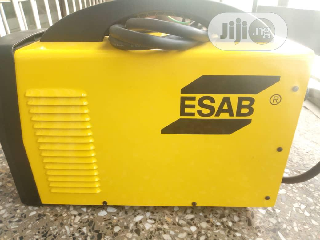Archive: ESAB TIG-MMA 250 Amps Inverter Welding Machine.