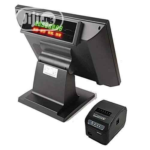 """Archive: Lovanne 15""""Touch All-in-one POS System/ Software+ Receipt Printer."""