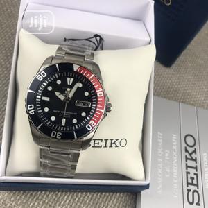 Seiko Silver Black Head Chain Watch   Watches for sale in Lagos State, Lagos Island (Eko)