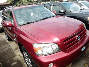 Toyota Highlander 2007 Red   Cars for sale in Lagos State, Apapa