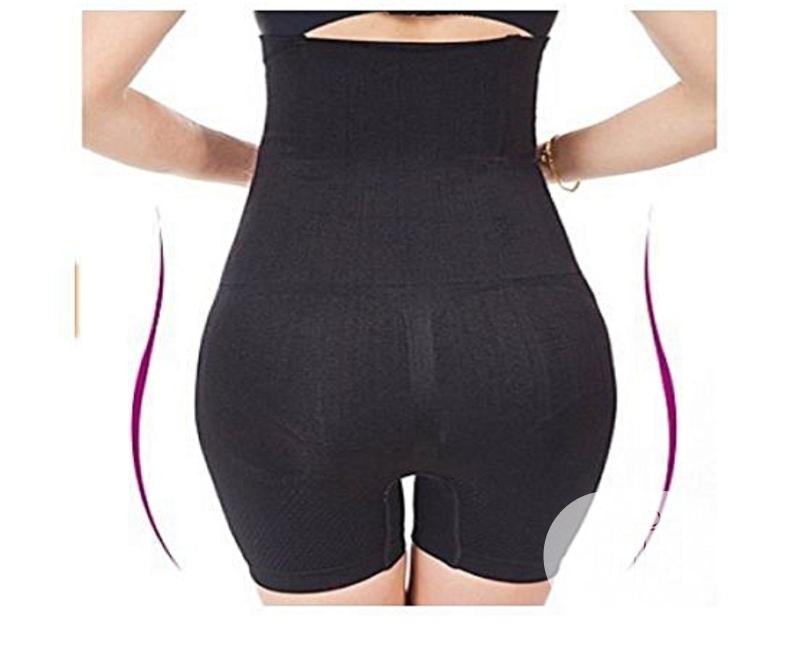 Highwaist Tummy Tuck Slimming Shapewear Girdle Tight - Black | Clothing for sale in Mushin, Lagos State, Nigeria