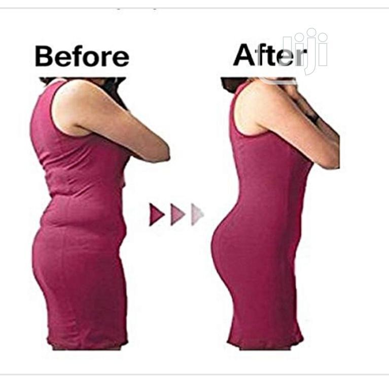 Highwaist Tummy Tuck Slimming Shapewear Girdle Tight - Black