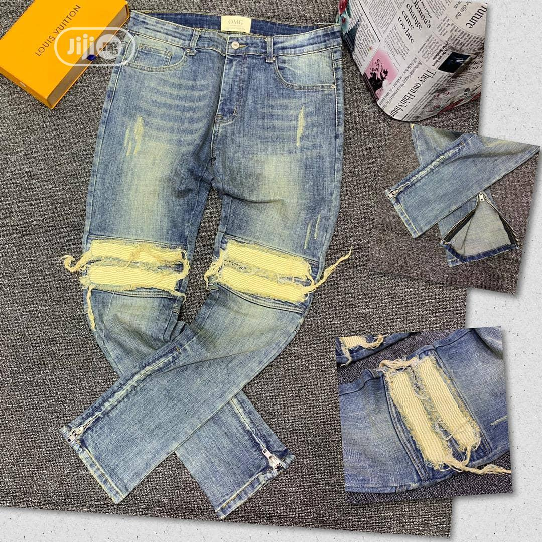 OMG Quality Men's Designers Jeans | Clothing for sale in Lagos Island (Eko), Lagos State, Nigeria