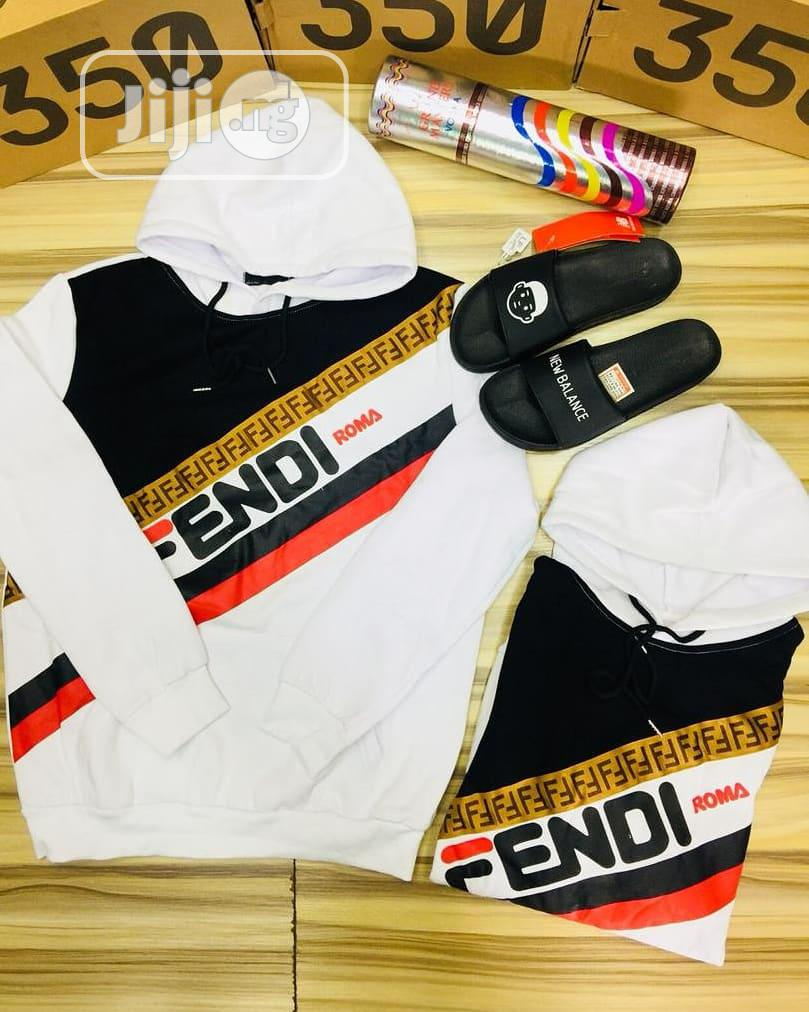 Fendi Hoodie Men's Quality Sweatshirt | Clothing for sale in Lagos Island (Eko), Lagos State, Nigeria